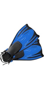 2019 Typhoon ADULT T-Jet Fins Blue 330183