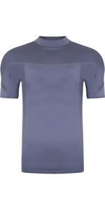 2021 Typhoon Mens Fintra Short Sleeve Rash Vest 430431 - Graphite