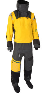 2019 Typhoon Mens PS440 Hinge-Entry Drysuit 100182 - Yellow / Grey