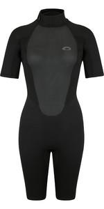 2021 Typhoon Womens Storm3 3/2mm Shorty Wetsuit 25089 - Black