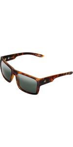 2021 US The Helios Sunglasses 941 - Matte Tortoise Shell / Vintage Grey Lenses