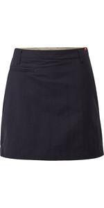 2019 Gill Womens UV Tec Skort Navy UV006W
