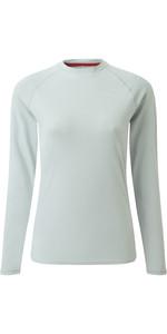 2020 Gill Womens Long Sleeve UV Tec Tee Grey UV011W