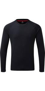 2019 Gill Mens Long Sleeve UV Tec Tee Navy UV011