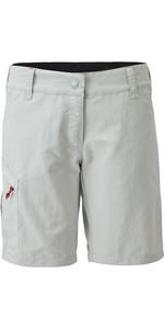 2021 Gill Womens UV Tec Shorts Silver UV012W