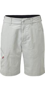 2021 Gill Mens UV Tec Shorts Silver UV012