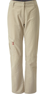 2019 Gill Womens UV Tec Trousers Khaki UV014W