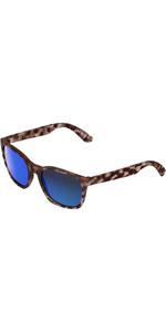 2021 Us Barys Sunglasses 820 - Matte Vintage Tortoise / Grey Blue Chrome