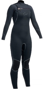Gul Ladies Viper 3/2mm Chest Zip Wetsuit Black VR1229 - 2ND