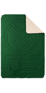 2021 Voited Recycled Cloudtouch Indoor / Outdoor Camping Pillow Blanket V20UN01BLCTC -  Eden Green
