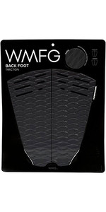 2019 WMFG Classic Back Foot Traction Pad Black / White 170015