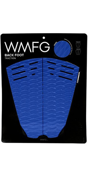 2018 WMFG Classic Back Foot Traction Pad Blue / White 170015
