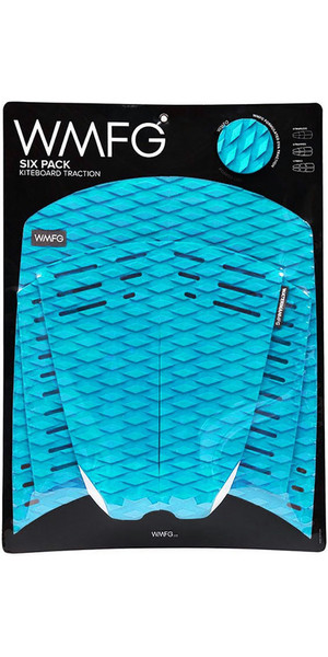2018 WMFG Classic Six Pack Traction Pad Teal 170001