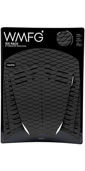 2018 WMFG Classic Six Pack Traction Pad Black 170001