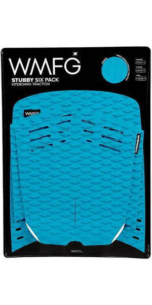 2018 WMFG Stubby Six Pack Kiteboard Traction Pad Teal 170005