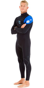 Rip Curl E-Bomb 3/2mm GBS Chest Zip Wetsuit BLUE WSM5AE