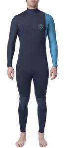 2020 Rip Curl Mens E-Bomb Pro 4/3mm Zip Free Wetsuit Blue WSM8QE