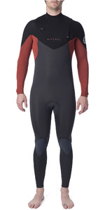 2020 Rip Curl Mens Dawn Patrol Warmth 5/3mm Chest Zip Wetsuit Burnt Orange WSM9GM