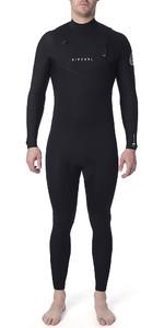 2019 Rip Curl Mens Dawn Patrol Performance 5/3mm Chest Zip Wetsuit Black WSM9XM