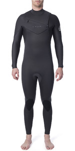 2020 Rip Curl Mens Dawn Patrol Performance 4/3mm Chest Zip Wetsuit Charcoal WSM9WM