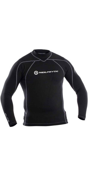 2018 Neil Pryde Thermalite Mid Layer Top Black WUKTLB937