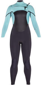 2020 Xcel Womens Axis X 4/3mm Chest Zip Wetsuit WT43Z2S9 - Graphite