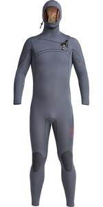 2020 Xcel Mens Comp X 4.5/3.5mm Hooded Chest Zip Wetsuit MN45C2H0 - Gunmetal