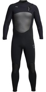2021 Xcel Mens Infiniti X2 4/3mm Chest Zip Wetsuit MQ433Z20 - Black