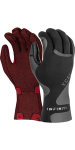 2020 Xcel Infiniti 3mm 5 Finger Neoprene Gloves AT039387 - Black