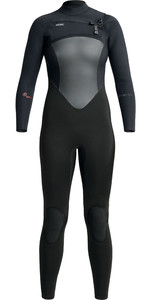 2020 Xcel Womens Infiniti 4/3mm Chest Zip Wetsuit WR433Z19 - Black