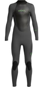2020 Xcel Junior Axis 4/3mm Back Zip Wetsuit KT43AX19 - Graphite