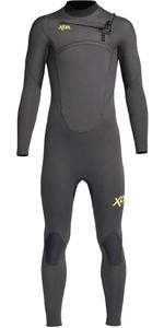 2020 Xcel Junior Comp 5/4mm Chest Zip Wetsuit KN54ZXC0 - Graphite