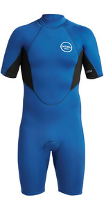 2020 Xcel Mens Axis 2mm Back Zip Shorty Wetsuit MN210AX9 - Blue