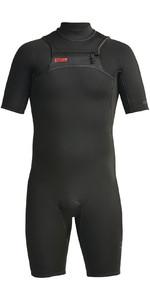 2021 Xcel Mens Comp 2mm Chest Zip Short Wetsuit MN21ZFC0 - Black