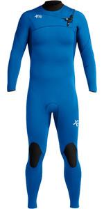 2020 Xcel Mens Comp 3/2mm Chest Zip Wetsuit MN32ZXC9 - Faint Blue