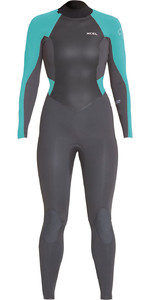 2020 Xcel Womens Axis X 4/3mm Back Zip Wetsuit WT43Z2S9 - Graphite