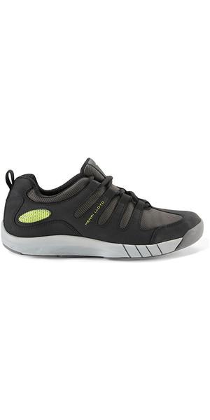 2018 Henri Lloyd Deck Grip Profile Deck Shoes in Black YF600001
