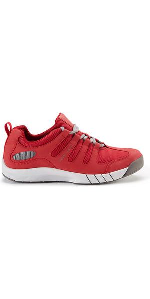 2019 Henri Lloyd Deck Grip Profile Deck Shoes in New Red YF600001