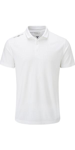 2018 Henri Lloyd Cool Dri Polo Shirt Bright White YI000005