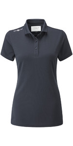 Henri Lloyd Womens Cool Dri Polo Shirt Slate Blue YI000006