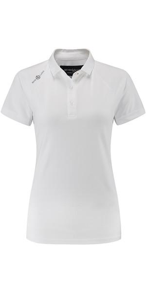 2018 Henri Lloyd Womens Cool Dri Polo Shirt Bright White YI000006