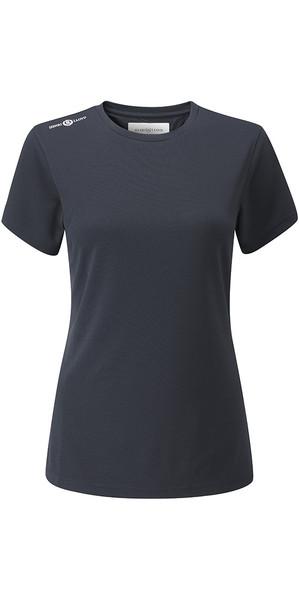 2018 Henri Lloyd Womens Cool Dri T-Shirt Slate Blue YI200004
