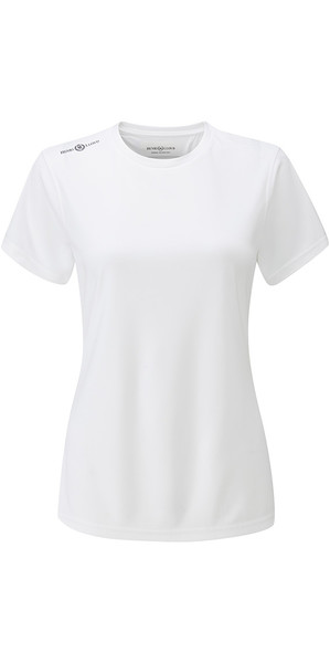 2018 Henri Lloyd Womens Cool Dri T-Shirt Bright White YI200004