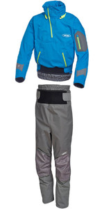 Yak Apollo Touring Cag 2722 & Chinook Trouser 2731 Combi Set Blue / Grey