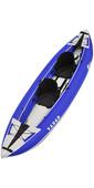 2020 Z-Pro Tango 1 or 2 Man Inflatable Kayak TA200 BLUE - Kayak Only
