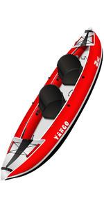2021 Z-Pro Tango 1 or 2 Man Inflatable Kayak TA200 RED - Kayak Only