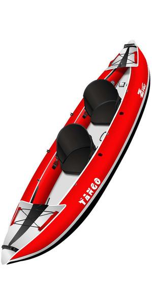 2018 Z-Pro Tango 1 or 2 Man Inflatable Kayak TA200 RED - Kayak Only