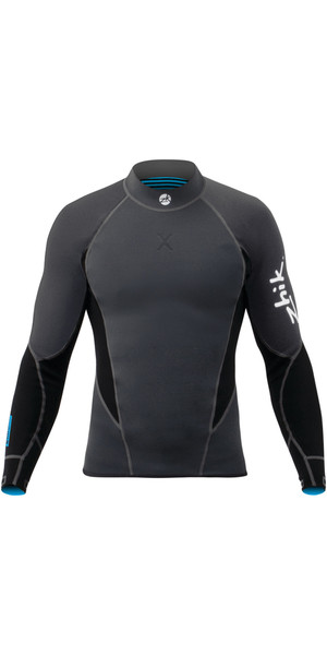 2019 Zhik Microfleece X 1mm Neoprene Top BLACK DTP0570