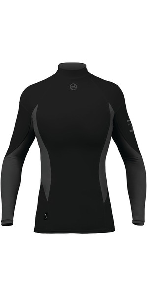 2018 Zhik Womens Long Sleeve Spandex Top BLACK TOP61W