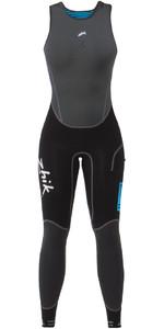 2019 Zhik Womens Microfleece X Skiff 1mm Long John Suit BLACK SKF0570W